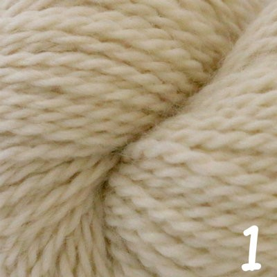 Aran - Natural white